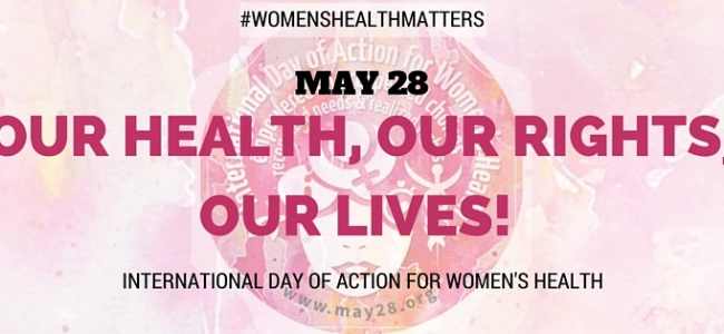 KMET and Partners to Celebrate the International Day of Action on Women's Health