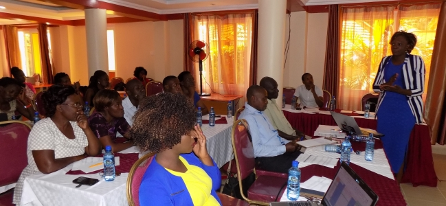 KMET meets record officers and county health stakeholders over validity of Reproductive Health data.