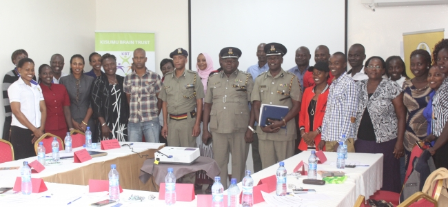 IMPARTING THE ESSENTIALITY OF SEXUAL AND REPRODUCTIVE HEALTH TO THE POLICE FORCE'S ZEAL AND COMPETENCE
